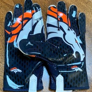 Nike VaporKnit Denver Broncos Football Gloves XL